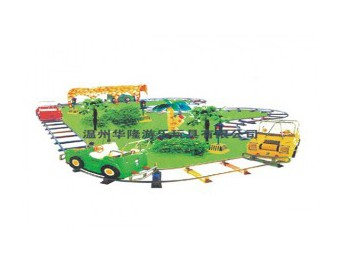паровозик на рельсах HL7062-2