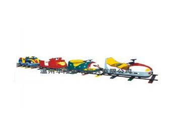 паровозик на рельсах HL7072-1