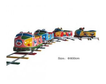 паровозик на рельсах HL7070-1