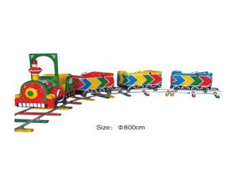 паровозик на рельсах HL7069-2