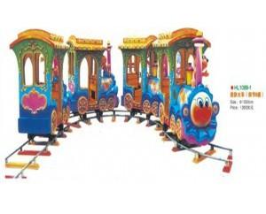 паровозик на рельсах HL1089-1