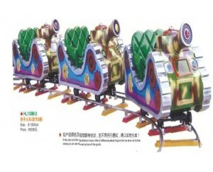 паровозик на рельсах HL1088-2