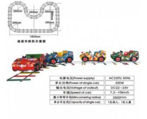паровозик на рельсах HL7067-3