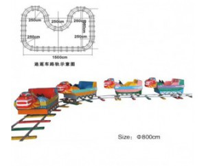 паровозик на рельсах HL7066-3