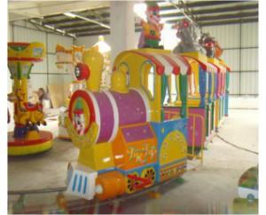 паровозик на рельсах GMKP-61