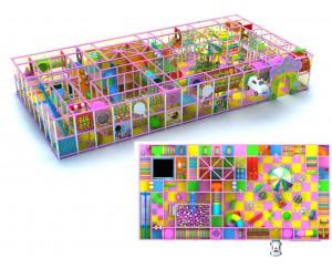Детский игровой лабиринт  HL1051-2