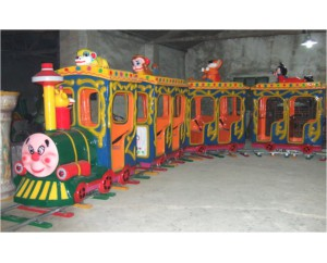 паровозик на рельсах GMKP-21