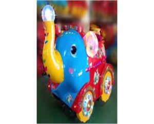 Аттракцион качалка машинка-слоник