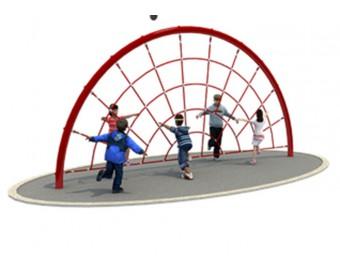 Веревочный лабиринт круг