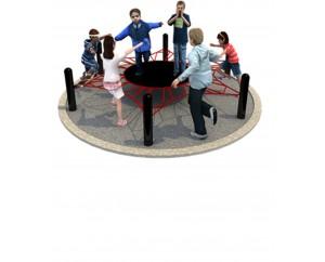 Веревочный лабиринт кружок