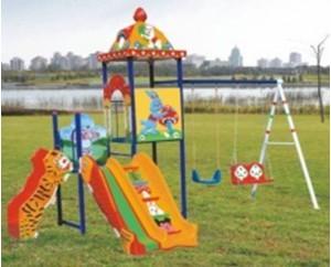 Детская игровая площадка с качелей