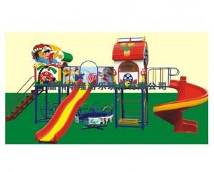 Детская игровая площадка с горками