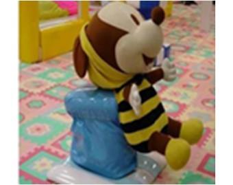 Качели Пчелка