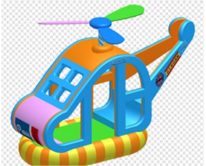 Качели вертолёт