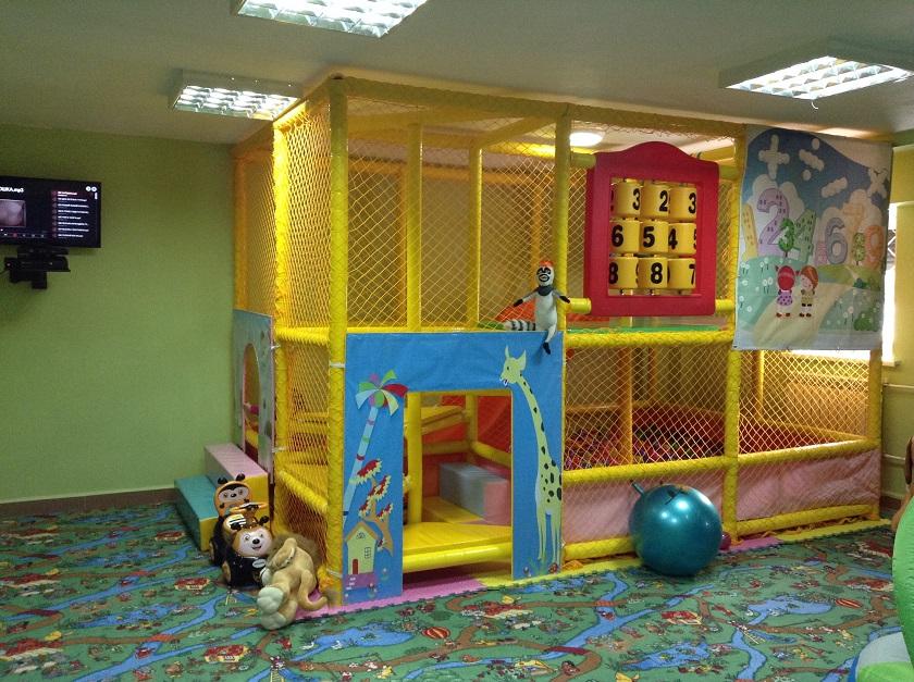 Детский игровой лабирнит в сборе